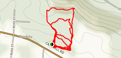 Conner Park Loops Map