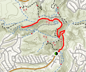 Patriot Trail Map