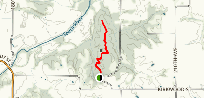 Woodland Mounds Loop Map