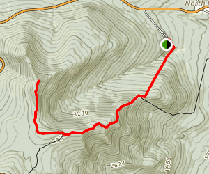 Esther Mountain via Marble Mountain Rd Map