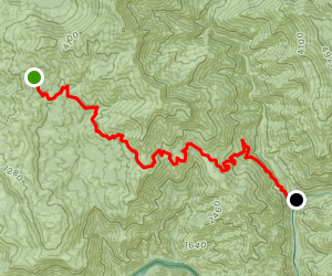 Sycamore Springs Trail Map