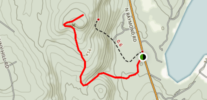 Black Cat Mountain Trail Map