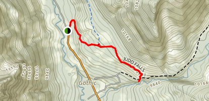 Judd Falls Trail Map