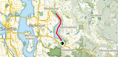 Lake Samammish Kayak Map