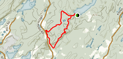 Wildcat Ridge Hawkwatch Trail Map
