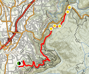 Western States Pioneer Express Recreation Trail  Map