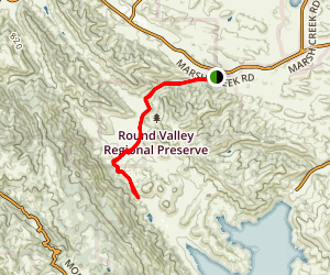 Miwok Trail Map