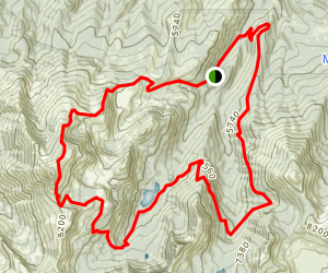 Onion Creek Loop Trail Map