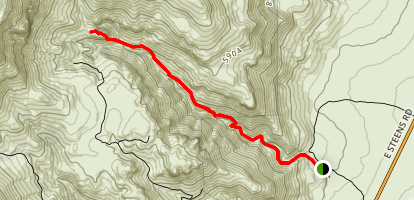 Pike Creek Canyon Trail Map