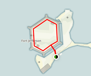 Fort Jefferson Loop Map