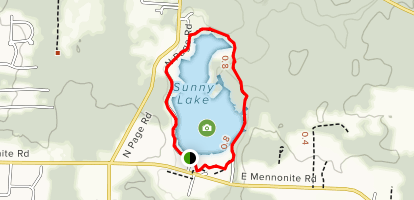 Sunny Lake Park Map