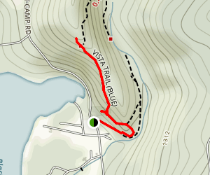 Echo Lake Vista Trail Map