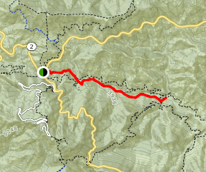 Valley Forge Trail Map