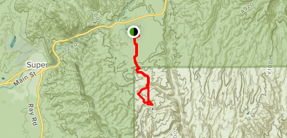 Devil's Canyon Trail Map