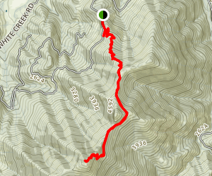 Kerby Peak Trail Map