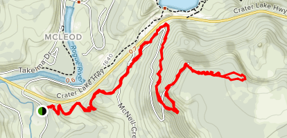 Viewpoint Mike Trail Map