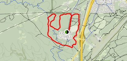 Fort Tuthill Trail Map