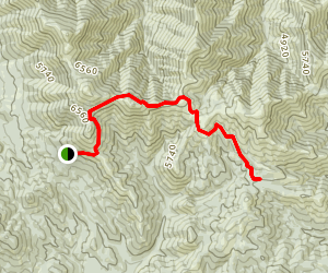 McClellan Mountain Trail Map