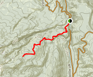 Lamberson Butte Spur Trail Map