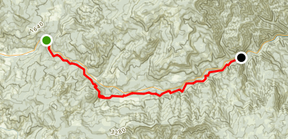 North Umpqua Trail: Tioga Segment Map
