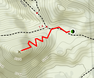 Hemlock Butte Map