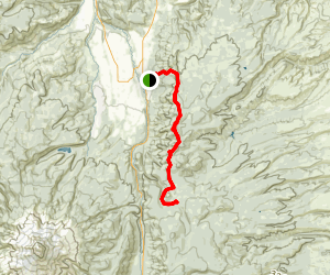 Surveyor's Ridge Trail Map