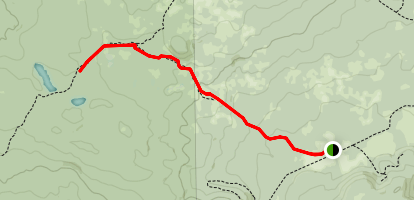Corral Swamp Trail Map