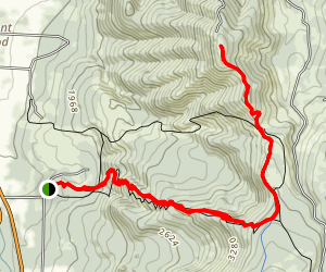 Bald Butte Trail Map