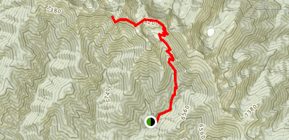 Rock Creek Butte  Map