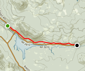 North Umpqua Trail: Lemolo Segment Map