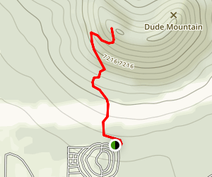 Dude Mountain Map