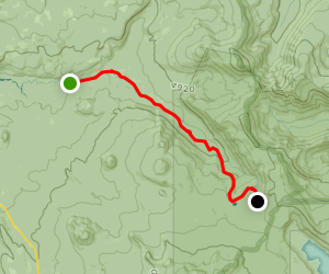 North Umpqua Trail: Maidu Segment Map