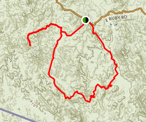 Cobre Ridge Loop Trail Map