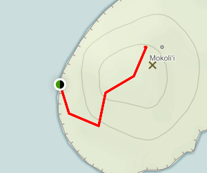 Mokoli'i Island Trail Map