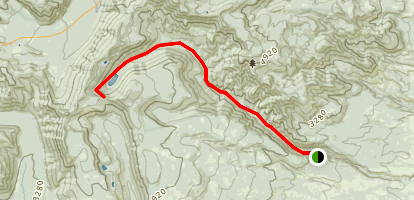 Badger Creek Trail Map