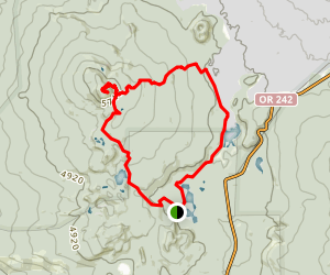 Scott Mountain Loop Trail Map
