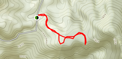 Kolekole Trail - Puu Hapapa via Honouliuli Contour Trail Map