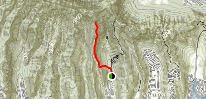 Hahaione Trail Map
