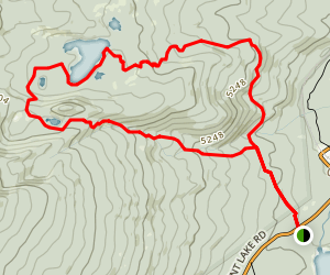 Fawn Lake Loop Trail Map