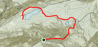 Elk Lake Trail Map