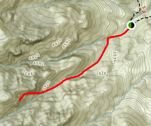 Devils' Chasm Trail Map