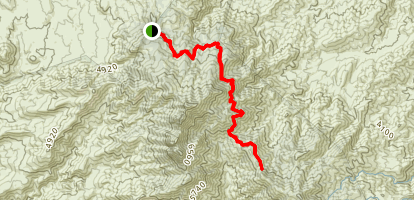 Four Peaks Trail Map