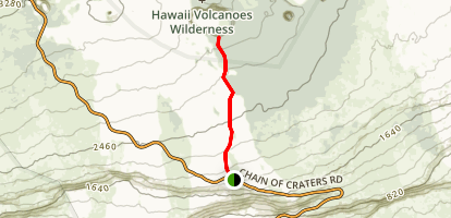 Nāulu Trail Map