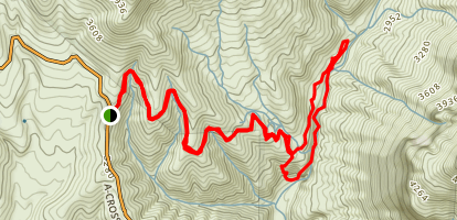 Salome Wilderness Trails Map