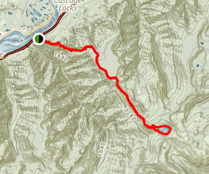 Benson Plateau Trail to Wahtum Lake Loop (CLOSED) Map