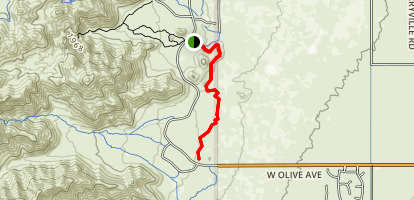 Mule Deer Trail Map