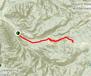 Pioneer Bridle Trail Map