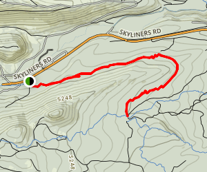 Skyliners Trail Map