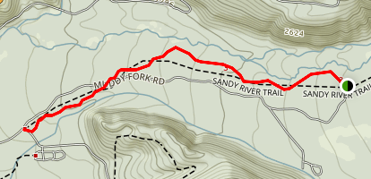 Sandy River Trail Map