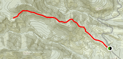 School Canyon Trail Map